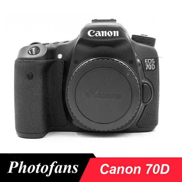 Canon 70D lustrzanka cyfrowa ekran dotykowy o zmiennym kącie wideo wi fi