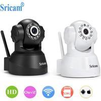 Sricam sp012 720 p câmera ip sem fio wi fi de segurança em casa monitor do bebê onvif p2p telefone remoto 1.0mp câmera vigilância vídeo cctv Câmeras de vigilância     -