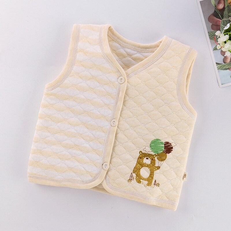 PPXX Children Baby Cotton Vest Waistcoat Kids Vest Toddler Baby Vest for Boys Girls Clothes Jacket Sleeveless Coat Newborn 4