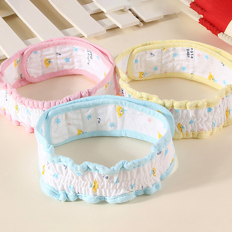 Adjustable Baby Diaper Fixed Belt Cloth Reusable Newborn Infant Cotton Soft Elastic Cartoon Nappy Belt Baby Care Accessories