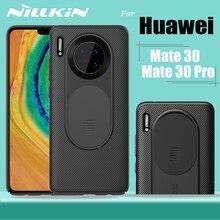 Nillkin funda completa para Huawei Mate 30 Pro, cubierta deslizante para cámara, carcasa rígida para teléfono PC, Huawei Mate30 Pro