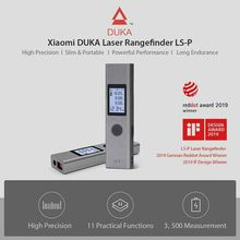 Youpin Duka telémetro de medición de alta precisión, telémetro Telémetro Láser de 40m, LS P, USB, flash de carga