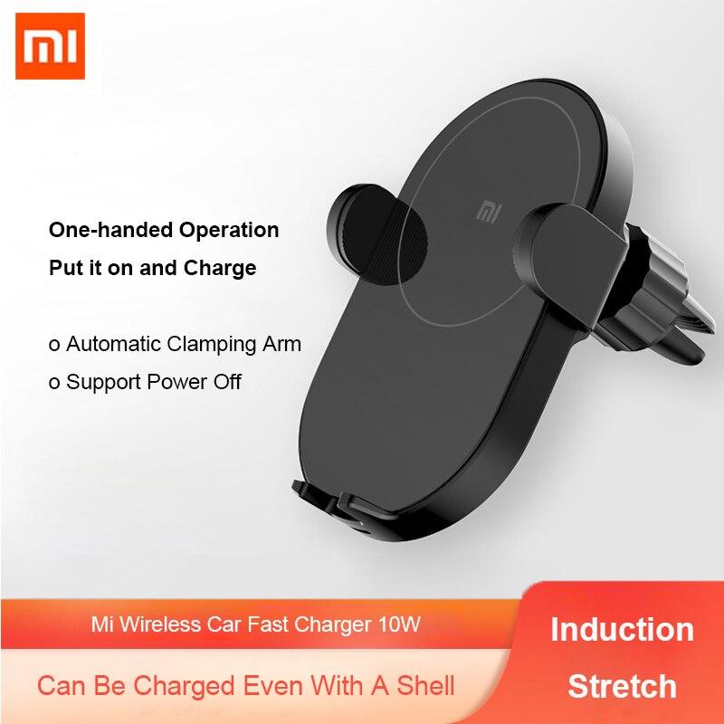 Xiaomi Mi WCJ03ZM 10W Qi Car Wireless Charger with Intelligent Infrared Sensor Fast Charging Car Phone Holder| | - AliExpress