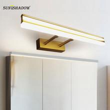 Светодиодный настенный светильник Современный Бра для дома Ванная