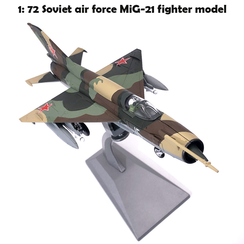Special Offer  1: 72 Russia  Soviet Air Force MiG-21 Fighter Model  Display Model Of Alloy Products