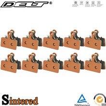 10 paar Gesinterte Fahrrad Disc Bremsbeläge Für SHIMANO XT/R M985 M988 M785 SLX M666 M675 M615 Alfine s700 CX77 515 517 Zubehör