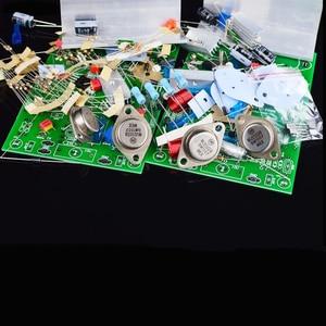 Image 4 - SUQIYA NAIM NAP250 כוח מגבר diy מגבר כוח ערכת סיים לוח אודיו מגבר hifi מגבר MJE15024 צינור