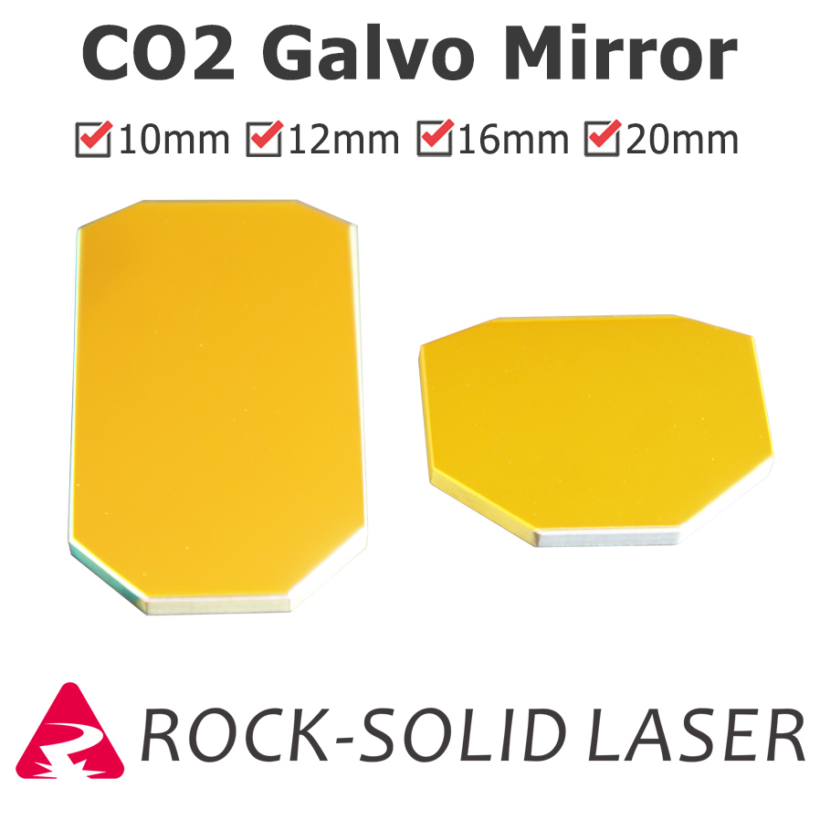CO2 Laser Galvo Scan Head Optics Mirror X Y Axis Quartz 10.6um Light Spot Size 10mm 12mm 16mm 20mm 30mm Galvanometer