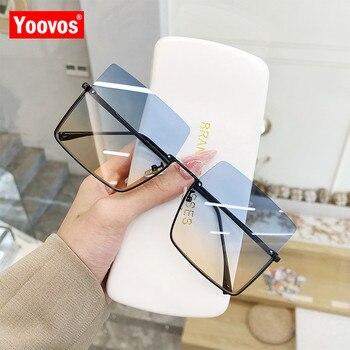 Sunglasses Women Luxury Sun Glasses Retro Brand Square  2