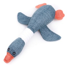 Dog Squeak Toys Wild Goose Sounds Chew Toy Cleaning Teeth Puppy Dogs Interactive Training Supplies Dog Educational Plush Toys