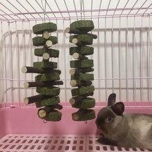 Zęby szlifowanie małe zwierzę dostawy królik chomik szynszyla zęby szlifowanie zabawki drzewo naturalne trawy ciasto Cookie wiszące klatki tanie tanio CN (pochodzenie) Pet Teeth Grinding Toy Pet Toys Natural Grasses Cookie Small Animal Supplies Pet Supplies