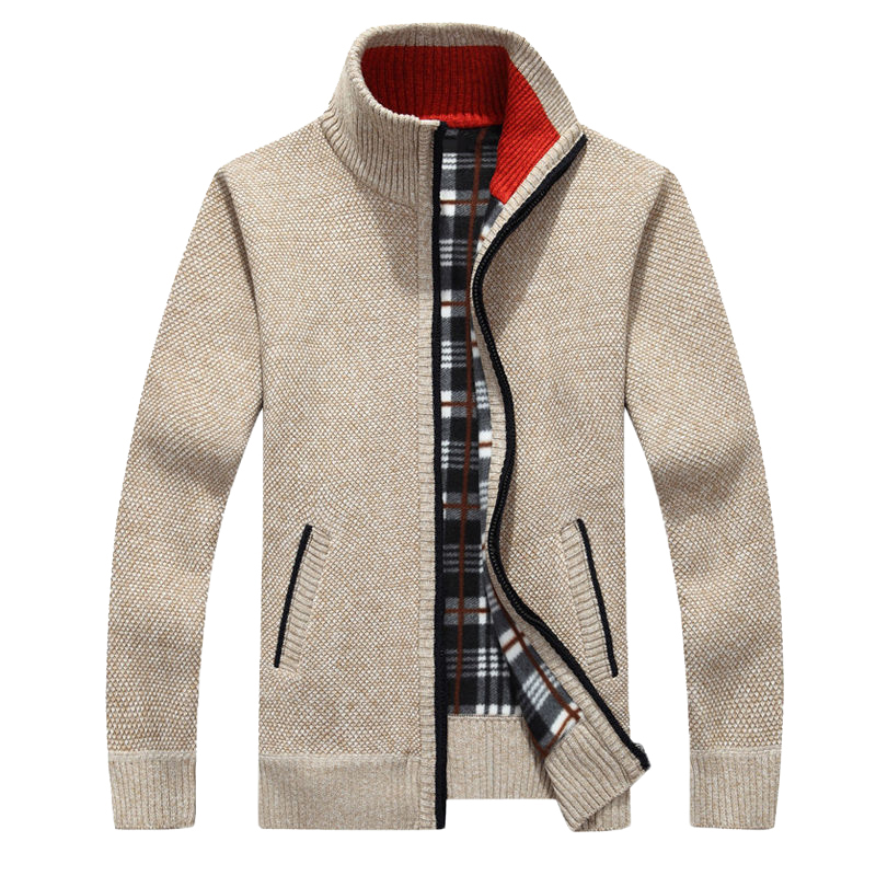 EUR Size Men's Sweaters New Autumn Winter Warm Pullover Thick Cardigan Coats Mens Brand Clothing Male Casual Knitwear AF383