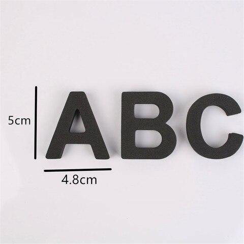 capitalizados 5cm 26 pcs set eva alfabeto
