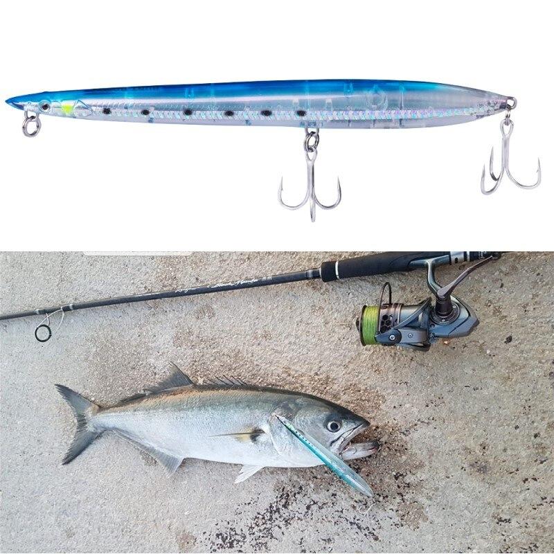 Savage Gear Sandeel Jerk Minnow 175mm 29g Sinking Bluefish Sea Bass Predators