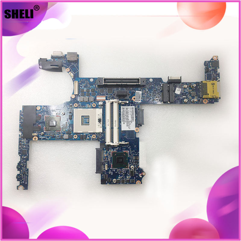 SHELI FOR <font><b>HP</b></font> <font><b>8460P</b></font> Laptop <font><b>motherboard</b></font> 670123-001 HM65 QM67 notebook pc mainboard main board DDR3 670123-501 100% full Tested image