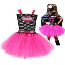 GirlsTulleTutu Dress Handmade Fluffy Baby Ballet Tutus Halloween cosplay Costume Set Children Birthday Party Dresses2 10Y