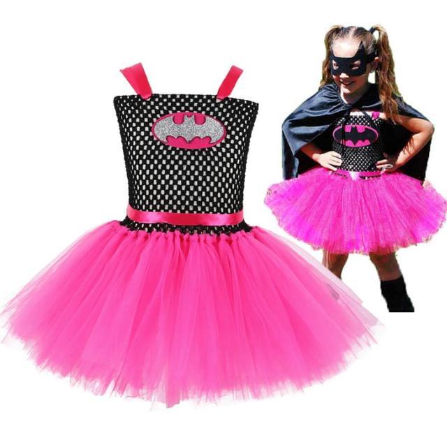 Girlstulletutuドレス手作りふわふわベビーバレエチュチュハロウィンコスプレ衣装セット子供の誕生日パーティーDresses2 10Y