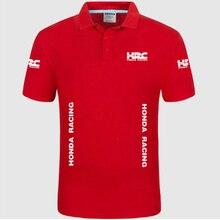 Летняя Высококачественная брендовая рубашка поло с логотипом HRC, рубашка с коротким рукавом, модная повседневная Однотонная рубашка поло, рубашки унисекс h