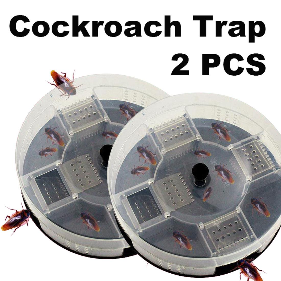 Reusable  Effective Cockroach Traps Box Roach Killer Pest Control Tools Catcher Cockroach Bait Traps Pesticide For Kitchen