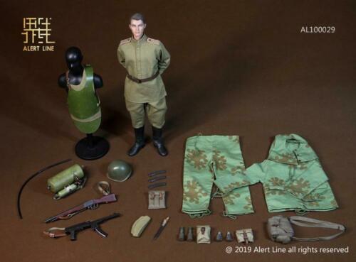 Línea de Alerta AL100029 WWII Guerra Mundial, ingeniería de asalto, juguete móvil