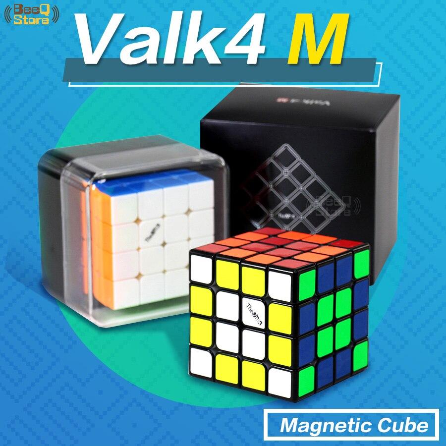 Mofangge Valk4 M Valk4M 4x4x4 Cube magnétique 4x4 vitesse Cube magique fort aimant Cubo Magico Valk 4 aimants jeu de Puzzle jouets