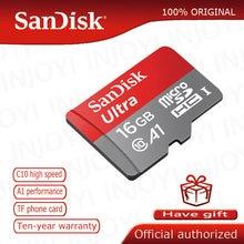 SanDisk-tarjeta de memoria microsd, 16gb, 64gb, microsdxc, 32gb, tf