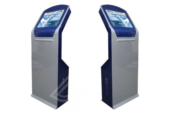 China Factory 17 19 Inch Self Service Touch Screen Queue Management System Kiosk