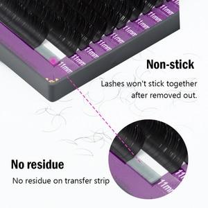 Image 4 - Nagaraku Alle Size 50 Gevallen Wimpers Extension Voor Enten Natuurlijke Lange Wimpers Met Hoge Kwaliteit Van Synthetische Nertsen Materiaal