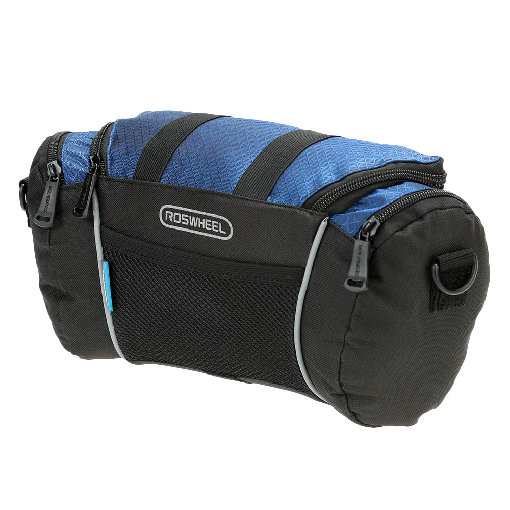 Roswheel Bicycle Bags Hot Sale Bicycle Frame Front Tube Bag PVC Bike Front Frame Handlebar Pouch Panniers for 4.8 Cell Phone