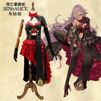 Hot Halloween Costumes SINoALICE Cinderella Cosplay Costume Japanese Anime Game Uniform Suit Outfit Clothes Cinderella Dress
