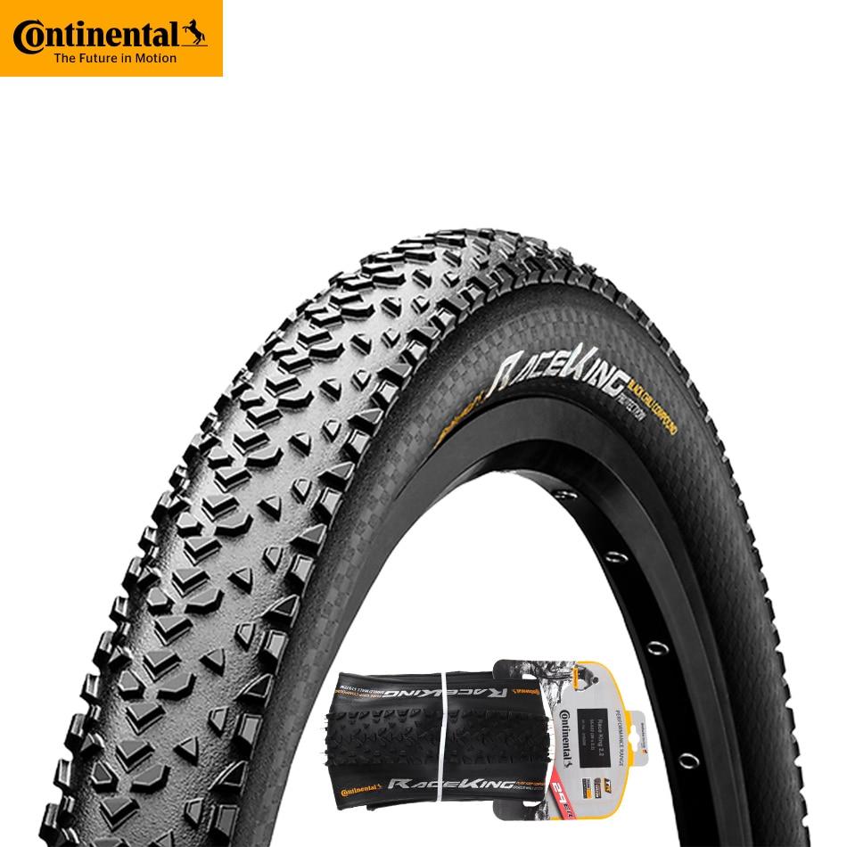 Continental pneu corrida rei 2.0/2.2 mtb mountain bike pneus 29*2.0/29*2.2/26*2.0/27.5*2.0/27.5*2.2 em peças de bicicleta pneu dobrável