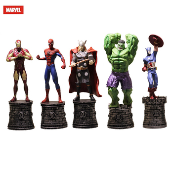 15CM Marvel doll statue action figure model Avengers toy Iron Man Captain America Thor Marvel toy commemorative boy gift 27cm marvel avengers 4 superhero all staff plush toy dolls captain america ironman iron man spiderman thor plush soft toy b618