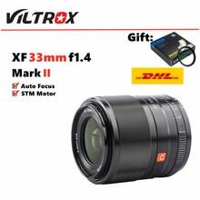 Viltrox 33mm f1.4 stm foco automático lente de foco fixo para fujifilm fuji x-montagem X-T3 X-H1 x20 X-T30 X-T20 X-T10 X-Pro3 câmeras