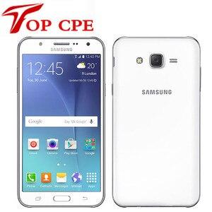 Original Samsung Galaxy J7 Smartphone J700F J700H Dual Sim Unlocked octa core 1.5GB RAM 16GB ROM 13MP Mobile phone