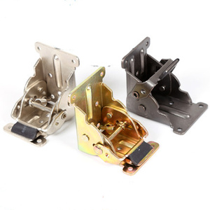 Image 4 - 90 Degrees Folding Cabinet Door Hinges Dining Table Lift Support Connection Cabinet Hinges Furniture Hardware Accessories
