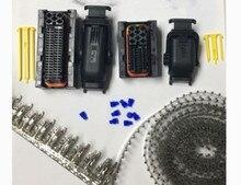 1set 40 Pin/Weg 81 Pin/Weg TE/AMP/TYCO PCB/ECU zündung Harness stecker Stecker Mit Terminal Dichtung 1473252 1 1473244 1 1473247 1
