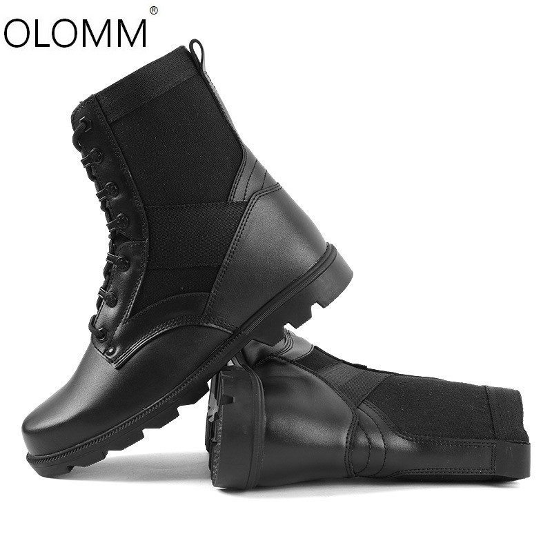 Military Boots Combat Boots Lightweight Outdoor Shoes Mens Zapatos De Hombre  Winter Boots