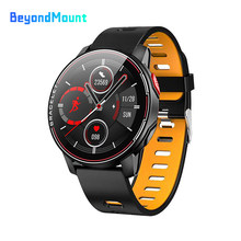 L6 IP68 Waterproof Smart Watch Fitness Tracker Heart Rate Monitor Smart Whatch Men Women Smartwatches For Android IOS(China)