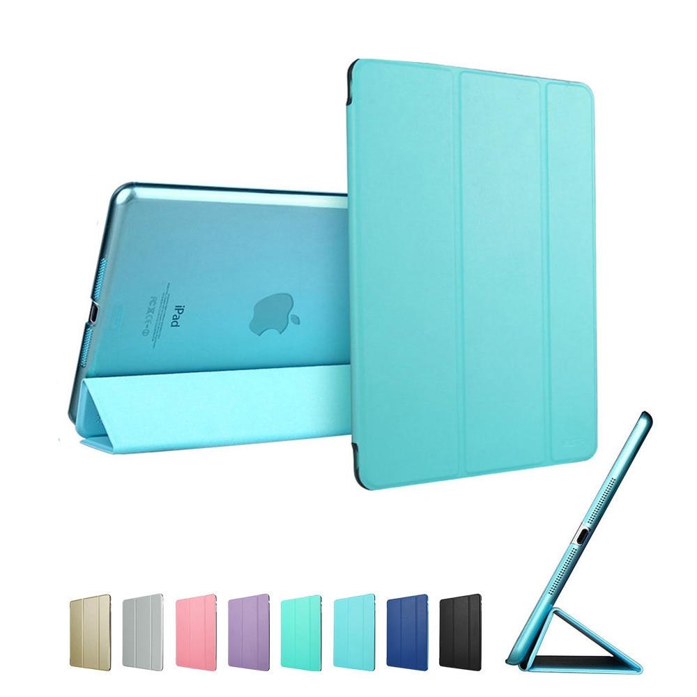 Sky Blue ESR PU multi-color Ultra Slim Light Smart Cover for iPad mini 4 2015 (A1538, A1550)
