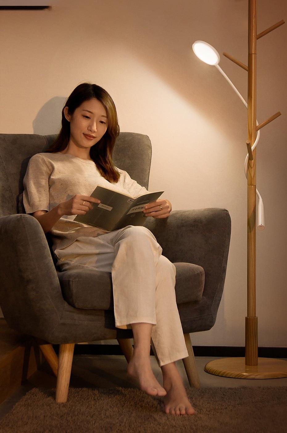 Baseus Comfort Reading Charging Uniform Light Hose Desk Lamp White DGYR-02 13