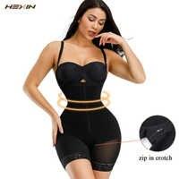 HEXIN Women Postpartum Slimming Underwear Shaper Recover Seamless Butt Lifter Bodysuits Shapewear Waist Corset Girdle Body Shape