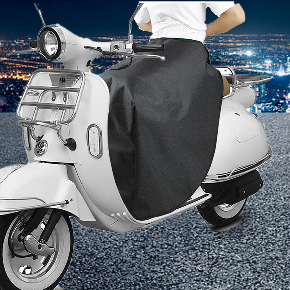 Dashboard Scooter Motor Scooter Leg Protection Cover Windproof Waterproof Leg Lap Apron Warm Cover Scooter Leg Cotton Cover