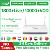 Leadcool IPTV France Arabic IP TV Android 8.1 QHDTV IPTV Subscription Germany Netherlands Belgium Morocco Arabic French IPTV