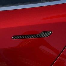 Автомобиль углеродного волокна наружная дверная ручка потяните