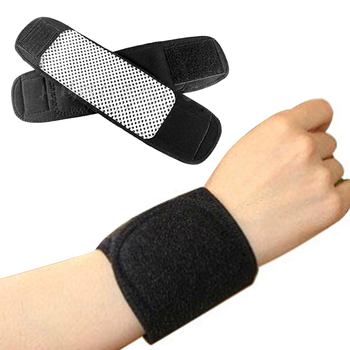 Men Self Heating Magnetic Wrist Brace Wrist Support Protector Warm Band Tourmaline Product 1pc Safety Survival Sports Tools 1