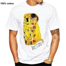 Maglietta T-shirt donna Il Bacio di Gustav Klimt Il Bacio quadro dipinto
