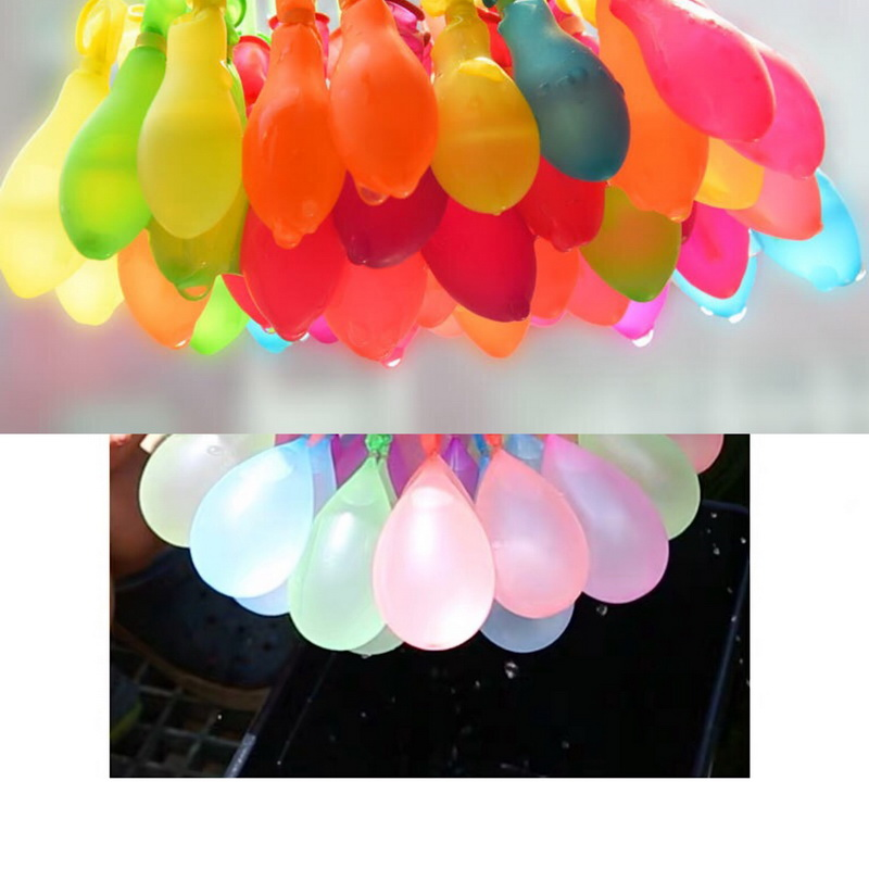111pcs Water Bombs Balloon Amazing Filling Magic Balloon Children Water War Game Supplies Kids Summer Outdoor Beach Toy Party