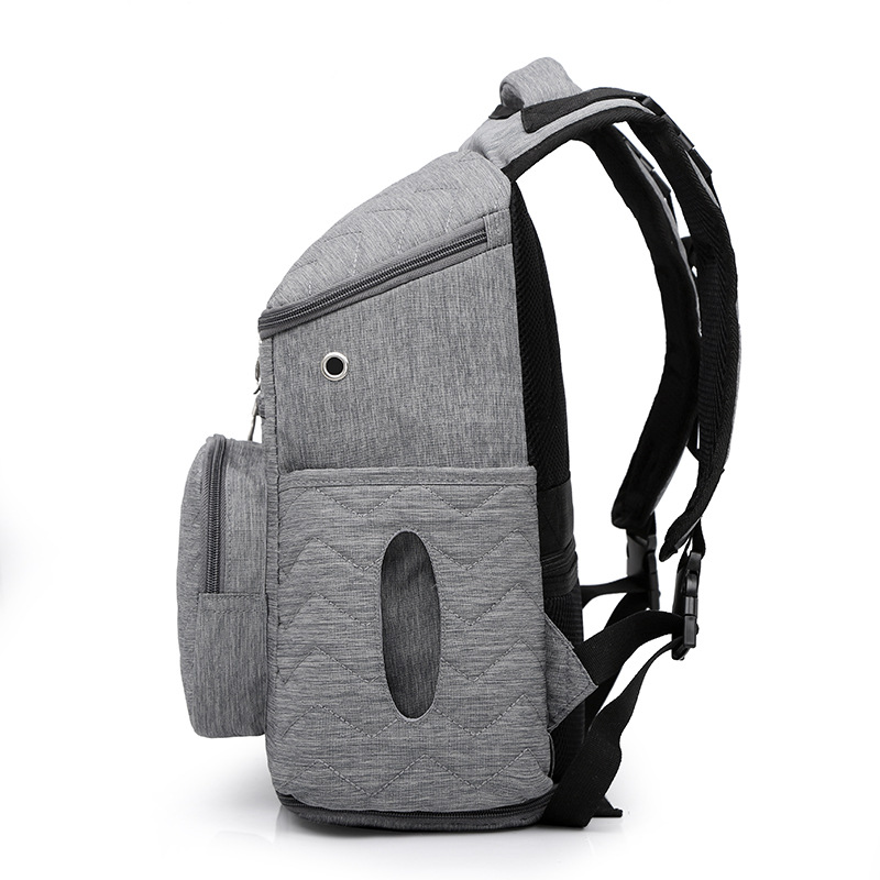 Multi-functional Backpack Women's Casual Oxford Cloth Large-Volume Mom And Baby Backpack Outdoor Travel Diaper Bag