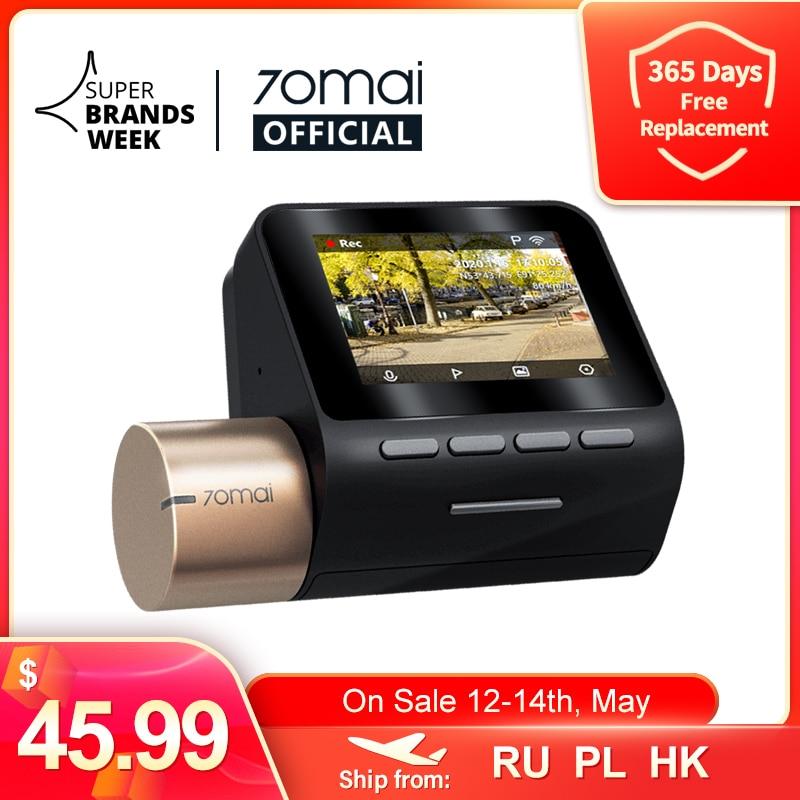 70mai Dash Cam Lite 2 ''ЖК-дисплей Экран 1080P Разрешение 70mai Lite беспроводной HD Автомобильный видеорегистратор Регистраторы 24 часа в сутки для парковочн...