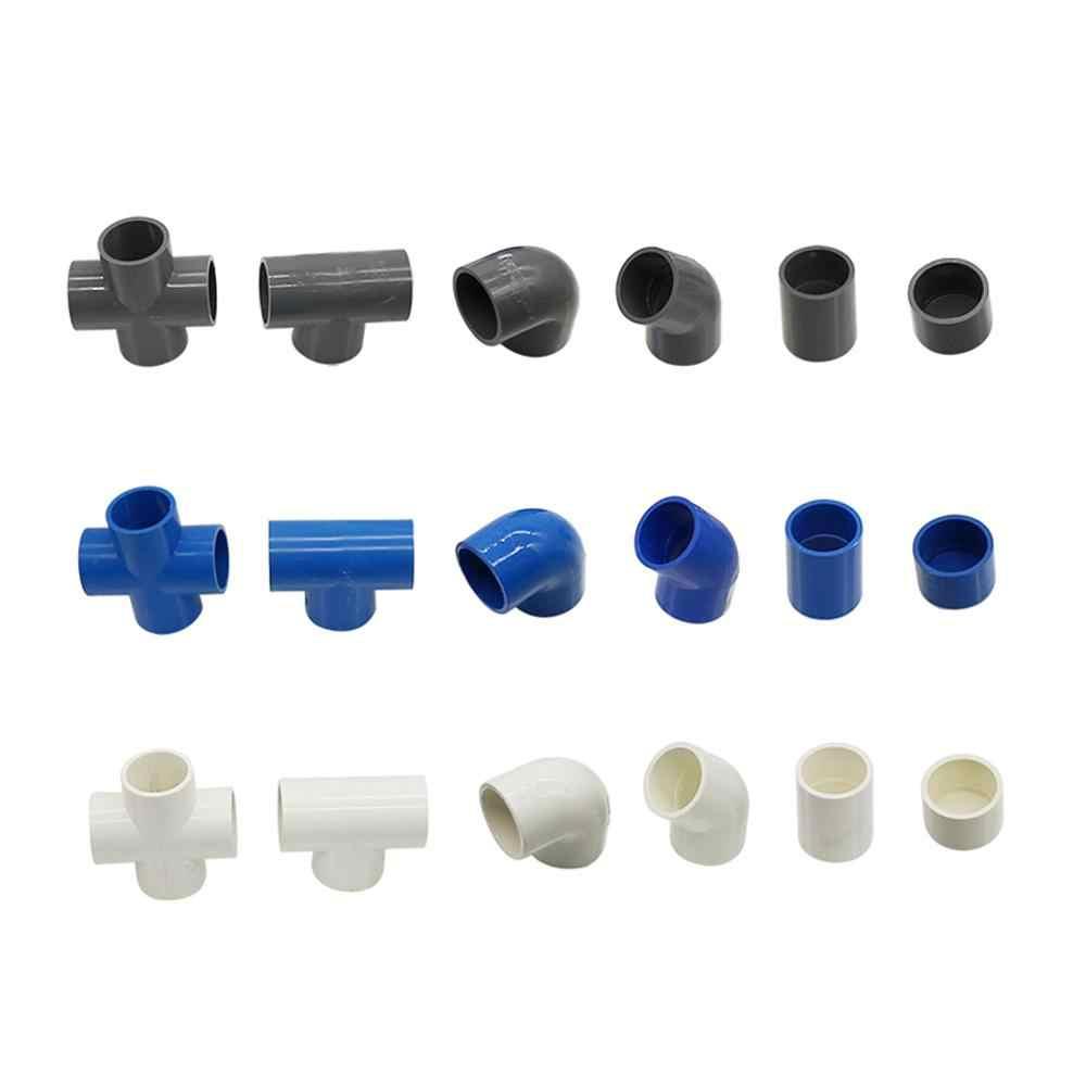 32 Mm Đường Kính Bên Trong Nhựa PVC Kết Nối Đường Ống Cấp Nước Phụ Kiện Thẳng Khuỷu Tay Chắc Chắn Bằng Thun 4 Chiều Kết Nối Thủy Lợi khớp